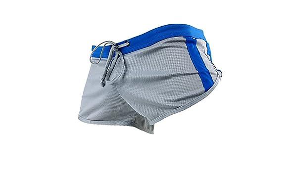 40b2dae0a8c6 SODIAL Trusa para Nadar para Hombre Traje de Bano Pantalones Cortos ...