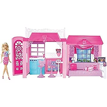 barbie house setting games pink world house toys amp 10421