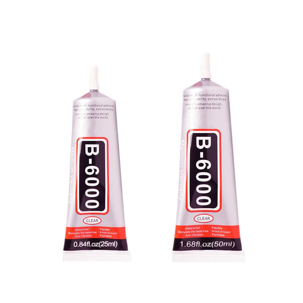 UMFun B6000 - Puntas Adhesivas para joyería, Pegamento Permanente ...