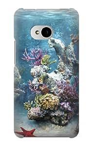 S0227 Aquarium 2 Case Cover for HTC ONE M7