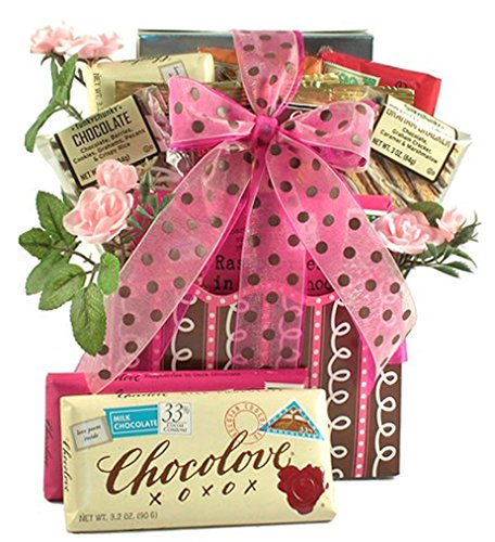 Love Letters Chocolate Valentines Day Gift Basket