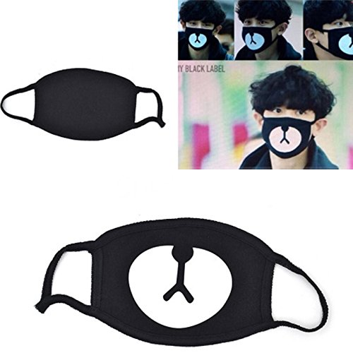 Amazon.com: Fdrirect Fashion Kawaii Unisex Ayo and Teo Face Panda Bear Mouth Mask Ornament Outdoor: Health & Personal Care