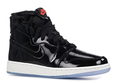 online store 44cae 9ba6c Nike Womens Air Jordan 1 Rebel XX (Black/Black-Infrared 23-White)