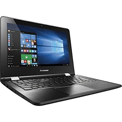 "2016 Newest Lenovo Flex 2-in-1 11.6"" Premium Touchscreen Convertible Laptop (Tablet), Intel Dual Core N3050 Processor, 4GB DDR3, 500GB HDD, HDMI, 802.11AC Wifi, Windows 10"