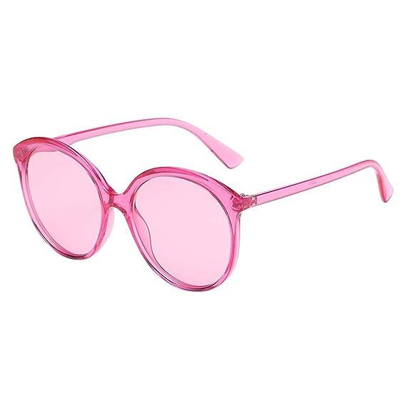 Gafas de sol Con Marco Redondo para hombre y mujer para ...