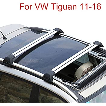oem vw volkswagen tiguan rail mount roof rack. Black Bedroom Furniture Sets. Home Design Ideas