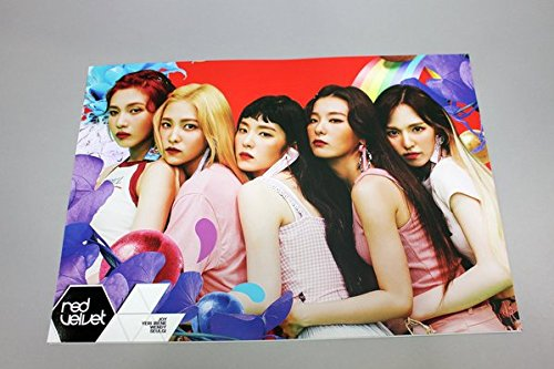 RED VELVET - 12 PHOTO POSTERS(16.5 x 11.7 inches) + 1 STICKER + 5 Photos(4 x 3 inches)