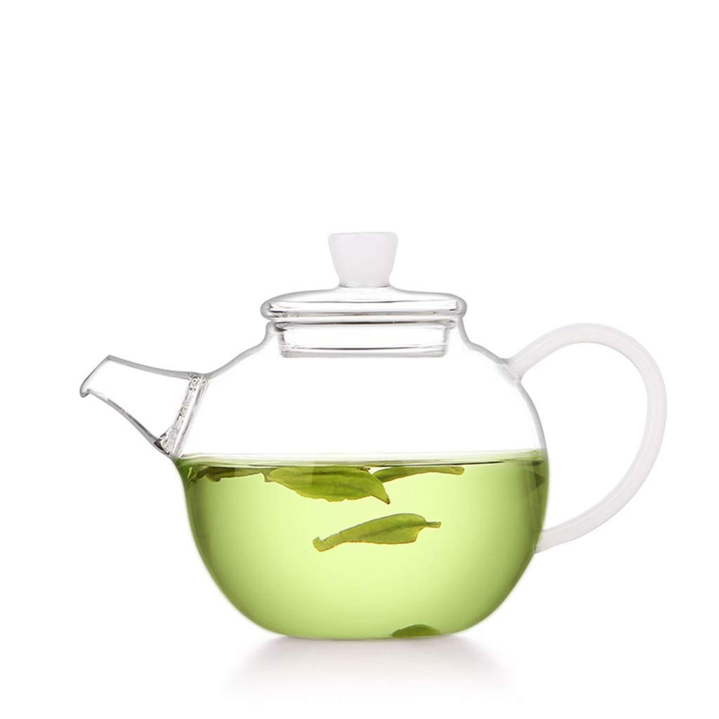 Integrated filter glass celestial pot heat-resistant household tea set mini transparent teapot small single pot CHAJU by CHAJU