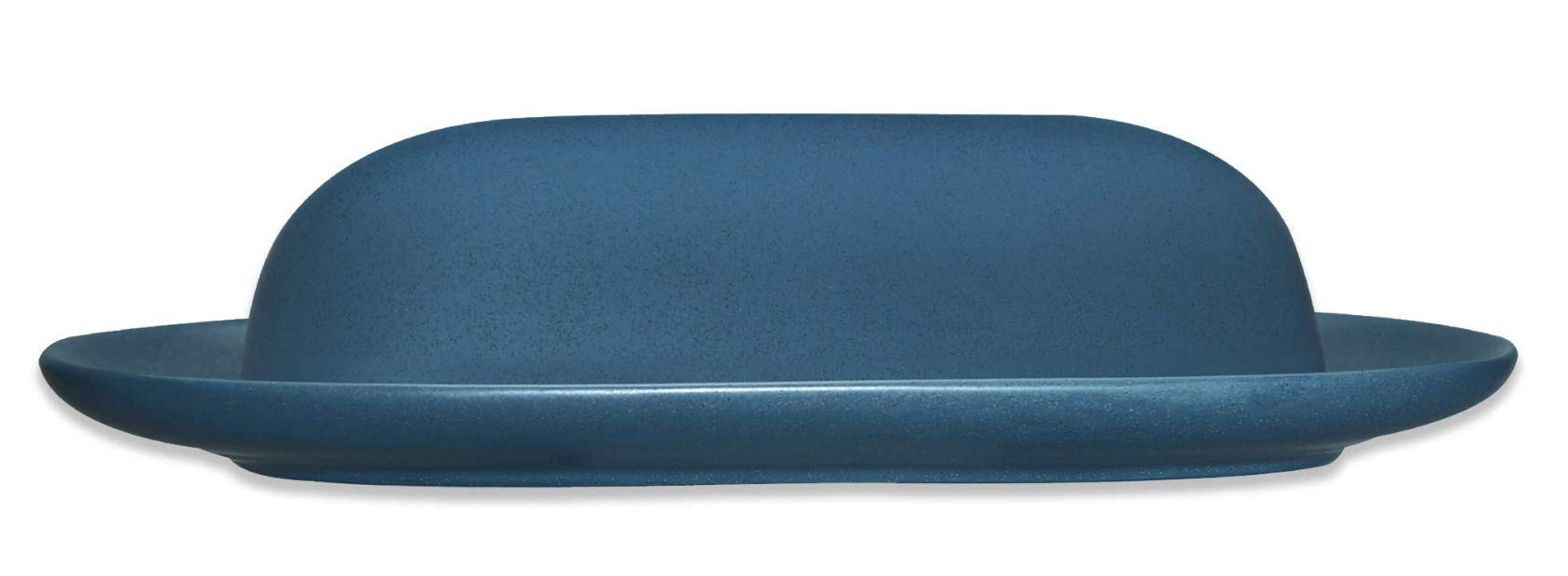 Noritake Colorwave Covered Butter, Blue