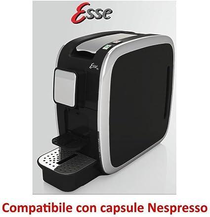 CBT Esse - Cafetera compatible con cápsulas Nespresso, 1200 W, 19 bar, fabricada en Italia: Amazon.es: Alimentación y bebidas
