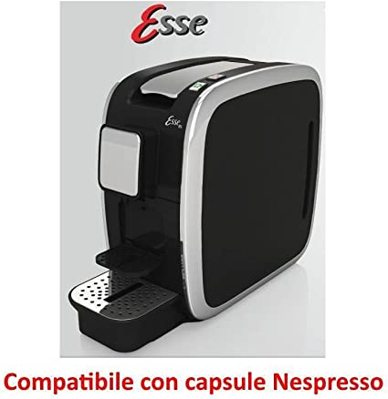 CBT Esse - Cafetera compatible con cápsulas Nespresso, 1200 W, 19 ...