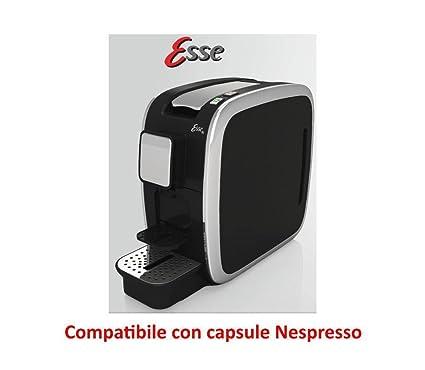 CBT Esse máquina de café Compatible Cápsulas Nespresso 1200 W 19bar Made Italy