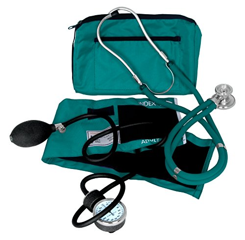 Dixie Ems Blood Pressure and Sprague Stethoscope Kit - Monitor Blood Stethoscope Pressure