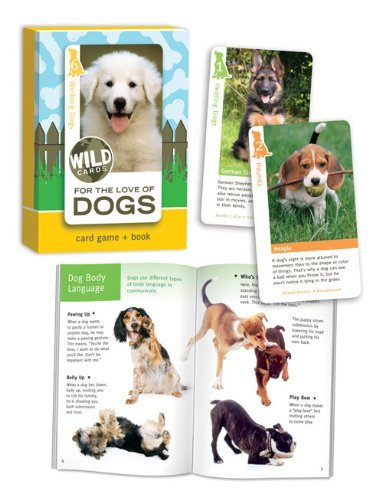 Dogs, Card Game and Book (Dog Playing Cards)