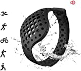 Moov Now - Stealth Black - 3D Fitness Tracker & Real Time Audio Coach - [NEW] Run Walk Swim Cycle Workout Cardio Boxing