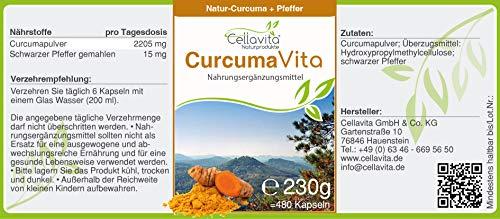 CELLAVITA Curcuma Vita Kapseln