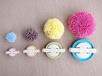 Pompom Maker Zur Herstellung Von Pompoms Und Flauschbällchen