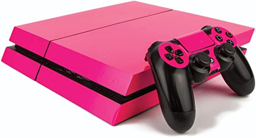 Premium PS4 PlayStation 4 Fluorescent Vinyl Wrap / Skin / Cover for ...