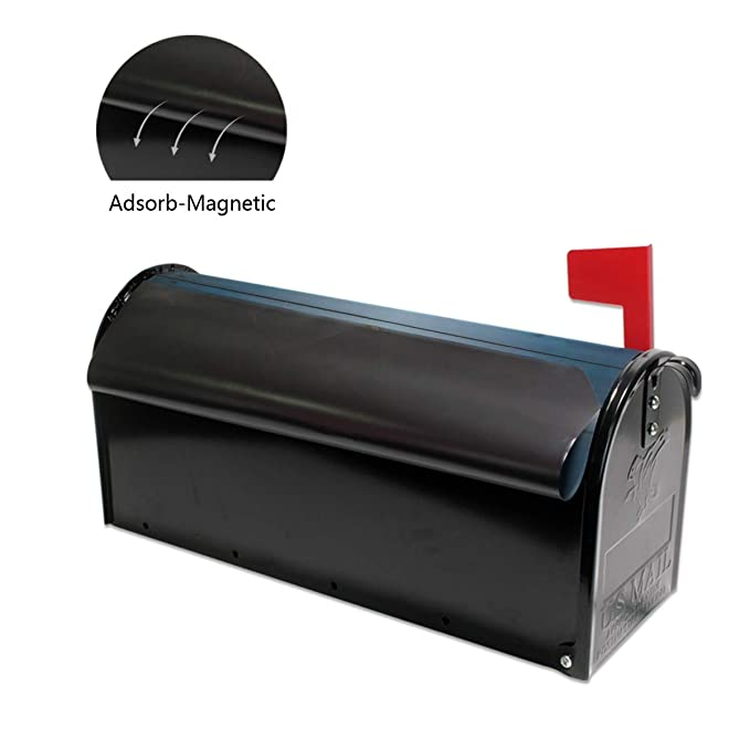 Pennsylvania Flag Magnetic Mailbox Cover Wraps Letter Post Box Outdoor Decor 20.7