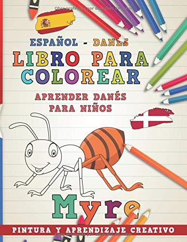 Libro para colorear Español - Danés I Aprender danés para niños I ...