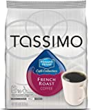 tassimo coffee discs french roast - Maxwell House Café Collection French Roast Coffee Size: 32 T-Discs Home & Kitchen