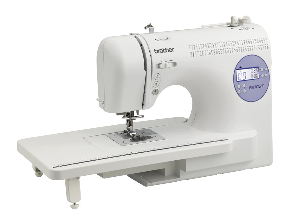 Brother FS70WT - Máquina de coser, color blanco: Amazon.es ...
