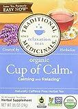 Best Traditional Medicinals Tea Cups - Traditional Medicinals, Cup of Calm, 16 bags Review
