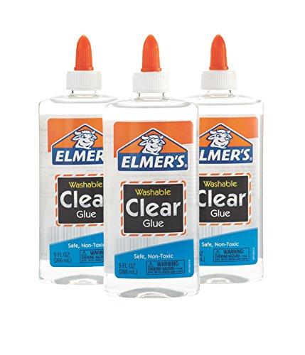 Elmer's Liquid School Glue, Clear, Washable by Elmer's
