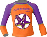 Cressi Pequeno Rash Guard Girl, Starfish, S