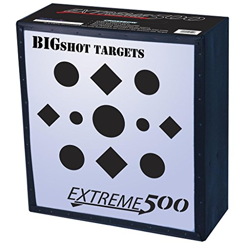 BIGSHOT ARCHERY Big Shot Iron Man Extreme 500 Target, White, 24'' by BIGSHOT ARCHERY