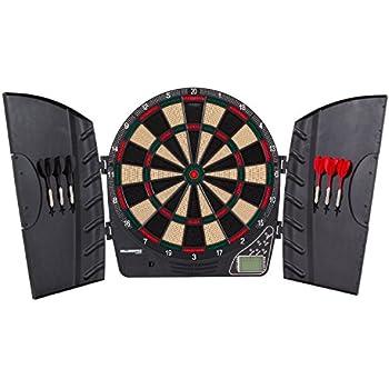 Amazon Com Dmi Sports Dartboard Cabinet Set With Rustic