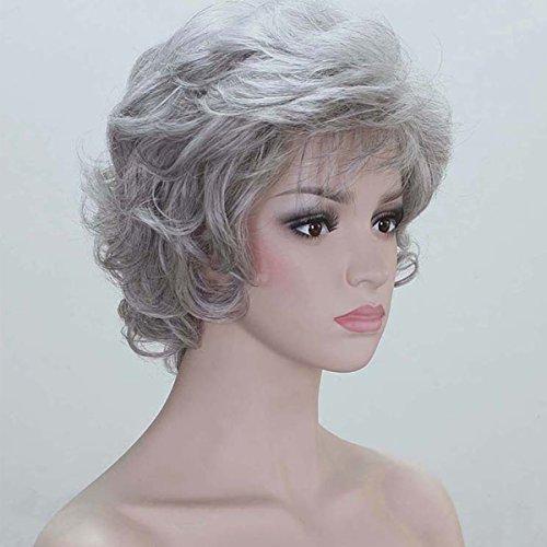Coply Women Soft Thick Wavy Layered Grey Gray Full