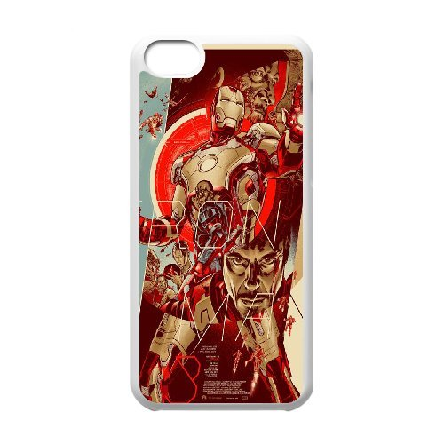 LP-LG Phone Case Of Iron Man For Iphone 5C [Pattern-5]