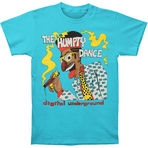 Digital Underground Men's Humpty Dance T-shirt Medium Blue