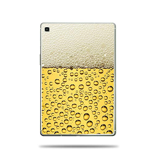 MightySkins Skin Compatible with Samsung Galaxy Tab S5e (2019) - Beer Buzz | Protective, Durable, and Unique Vinyl Decal wrap Cover | Easy to Apply, Remove, and Change Styles | Made in The USA