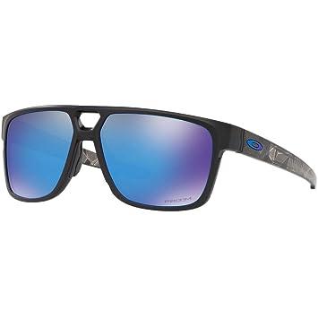 5658038a23 Gafas de Sol Oakley CROSSRANGE PATCH OO 9382 MATTE BLACK/PRIZM BLACK hombre:  Amazon.es: Deportes y aire libre