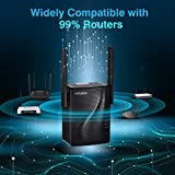 rockspace WiFi Range Extender - AC1200 Dual-Band