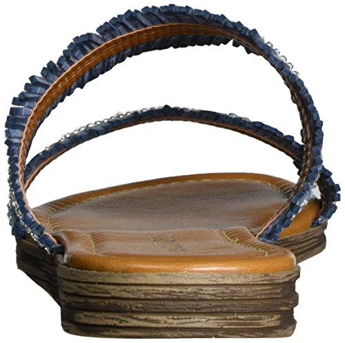Blue 853 Comb Tozzi Sandals 27114 Denim Marco WoMen PxIq40nC