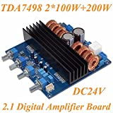 Nobsound TDA7498 2.1 DC24V-32V Class D 2.1 Channel 200W+100W+100W Digital Amplifier Board Greater Than TPA3116
