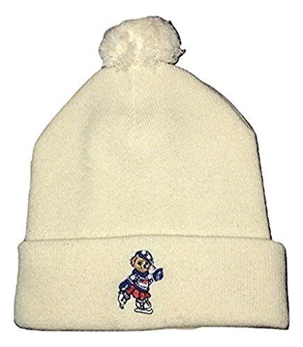 Polo Ralph Lauren Polo Bear Girl Wool Hat Cream NWT Ice Skater Skating Beanie