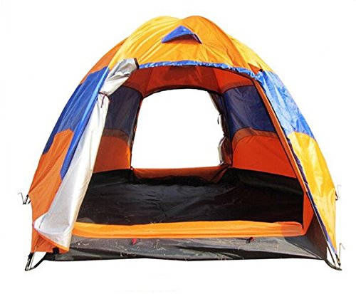 Bestwind Outdoor-Aktivitäten Doppeldecker Wasserdichte 5-8 Personen Große Camping Zelte