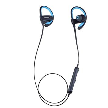 CCYOO Auriculares Auriculares Inalámbricos Sport In Ear Auriculares Bluetooth AWEI Il98bl,Blue