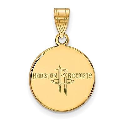Lex & LU logoart vergoldet Sterling Silber NBA Houston Raketen ...