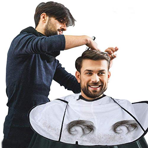 Barber Cloak, Hair Cutting Cape Umbrella Salon Barber Hairdressing Hair For Adult - Optional Broom Kit