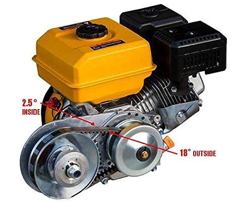 jeremywell Torque Converter Kit de embrague 30 Serie 3/4 Inch 10T # 41/40/420 cadena: Amazon.es: Coche y moto
