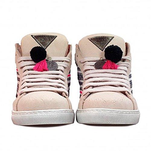 Baskets Femme LAYER pour Beige BOOTS Beige qf4wH54