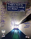 New York Yankees Team Greats Signed 16 x 20 Photograph With 37 Signatures - PSA/DNA Authentication - Autographed MLB Photos