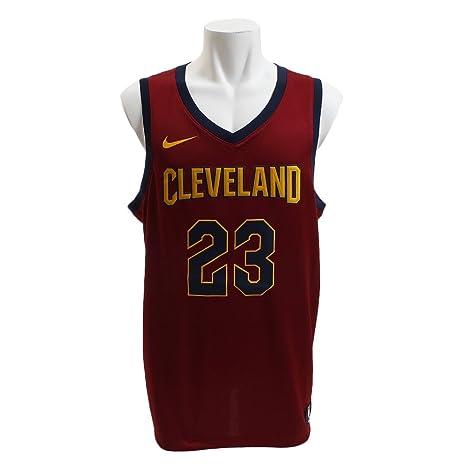 Nike Cle M Nk Swgmn JSY Road Camiseta 2ª Equipación Cleveland Cavaliers 17-18 de