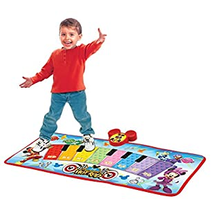 Mickey and the Roadster Racers Electronic Music Play Mat, Multicolor