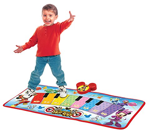 Mickey and the Roadster Racers Electronic Music Play Mat, Multicolor]()